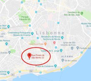 adresse in lisbonne